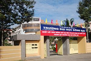 Điểm chuẩn Trường Đại học Đồng Nai