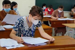 Chấm thi tốt nghiệp THPT 2021: Đã xuất hiện bài Văn đạt 9,25 điểm