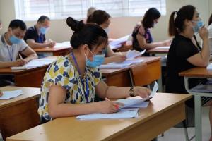 Chấm thi tốt nghiệp THPT 2021: Đã xuất hiện bài Văn đạt 9,5 điểm