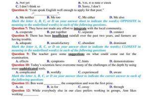 Tổng hợp đề thi thử THPT quốc gia 2020 môn Tiếng Anh có hướng dẫn giải chi tiết