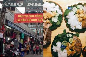Trùy lùng những khu chợ giá rẻ gần các trường Đại học cho học sinh, sinh viên Hà Nội